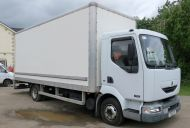 OB46 7.5t 2002 Renault Midlum 150 Tender OB truck with 2x 20kva generators. With racking for cable drum,