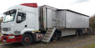 OB26 13.6m Expanding rack ready trailer. Power1ph / 3ph power