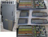1x 4ME GVG Kalypso HDSDI and 1x 4ME SD Kalypso vision mixer