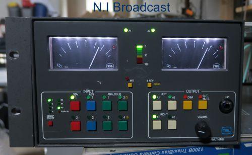 TSL amut-2md SDI / analog monitor unit with ppms