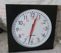Leitch 12inch analog studio clock (adc5112)