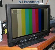 Panasonic bt-lh1710we high defintion HDSDI / SDI lcd monitor 17inch widescreen
