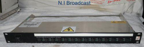 1x Argosy mains distrubtion unit MDU (14 x  IEC outputs)