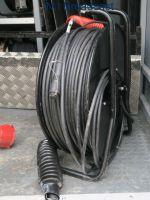 200metre fibre optic camera cable with drum (drake zero loss HD cable)