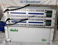Drake 4000 digital intercom with some panels.