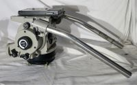 Vinten vision 30 fluid tripod head with flat base and pan bars