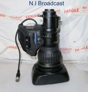 Canon high definition hj22e x 7.6 iase  broadcast lens, with extender (22x zoom)  (ref 7)