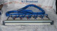 1x Ghielmetti 96port audio jackfield patch panel prewired