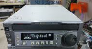 Sony j3sdi multiformat player for playback of tapes for digi beta, sp, sx, imx format (264 drum)