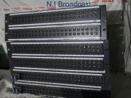 3x TSl 24x4 HD / SD video patch panel jackfields