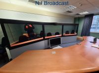 Cisco tx9000 telepresence video confercing system with 65inch screens, hd webcams, Complete telepresence