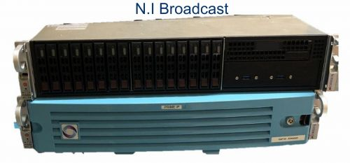 Chyron hego prime hx graphics system with IP. (prime HX) for live sport etc  graphics 4k, hdr