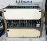 3x Probel composite VDA distribution racks