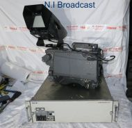Sony bvp-950wsp digital camera with ccu700AP and fischer triax