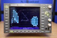 Tektronix half rack wfm8200  waveform / vector scope wth Dolby D, E, camera measurement, black frozen,  loudness etc.