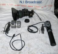 Canon j21a x7.58 B4 ias  sx12  long lens  wth focus and zoom demands zsd300m and fpd400