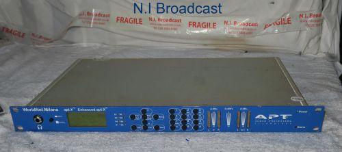 Atp worldnet Milano  apt-x enhanced full dplex audio codec for ISDN
