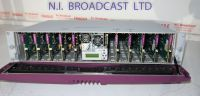Grass Valley Miranda densite 2 rack with 10x HD / SD / ASI changeovers HCO1822and 2x PSU (ref 11)