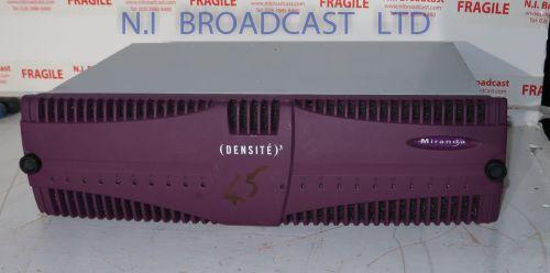 Grass Valley densite 3 with 2x irg3401 IP gateway cards