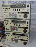 3x faulty umatic SP recorders vo9800p vo9850p