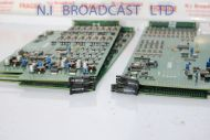 4x Harris imagine PLatnium router 16channel audio convertercards