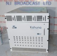 Snell Wilcox Kahauna 4ME mainframe with cards and PSU.