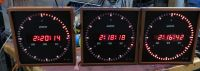 Evertz 1275a digital clock with timecode and manual start. (23cm)
