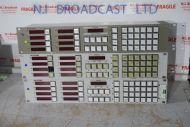 3x Probel Snell 6277 router matrix panels (8x destination output)