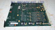 Trilogy Commander intercom talkback input board with 6x 9pin port backplate
