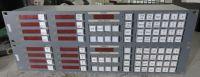 1x Snell 6277 8 bus desination router matrix panel