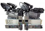 SOLD  4x sony hxc100 Sony triax hxc-100 hdsdi high defintion camera channel with cabling and more