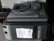 Grass valley kayak  1me 24input HDSDI high definition vision mixer, 6x ram recorders (ref 2)