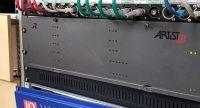 Riedel Artist 64 intercom talkback with 8x panels and MediorNet Compact Pro rack also