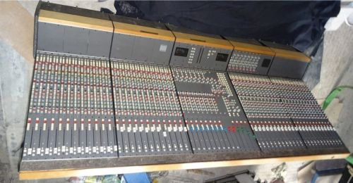 Calrec C ( c2 ) series 48 stereo mic / line input channel analog sound mixerwith 8 groups etc.