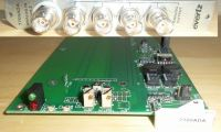 Evertz 7700ADA composite VDA card and back.(1in 4 out)