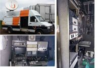 OB25 Left hand drive Iveco 5912DSNG SDI cameratruck. with 2m advent dish