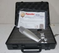 Superlux cm-h8a platnium large diaohragm condenser cardioid microphone for broadcast. with case. (as new)