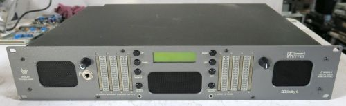 Wohler Emon-1 8 channel Dolby E digital monitor unit