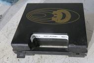 Coles commentators microphone box