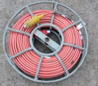 Skeleton cable drum with 11mm triax and fgg-4m and phg-4m triax lemo ends