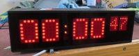 Vortex digital led clock with clock / timecode option