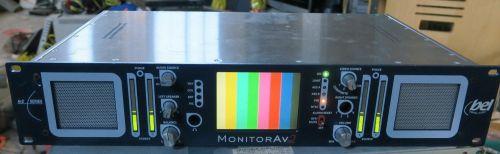 Bel av2 video and audio speaker monitor unit for 4 channel