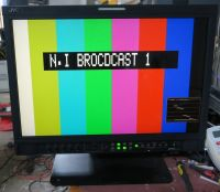 Jvc 20inch dt-V20L3D  LCD broadcast monitor (HD, SDI etc) with stand