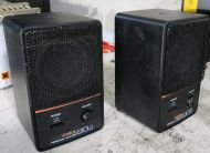 Matched pair Fostex 6301b active powered speakers with amplifiers (ref 2)