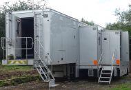 OB35  13.6m ASGB coachbuilt triple expanding trailer. 5.6m width expanded