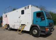 OB62 10 camera SDI camera obvan vehicle truck. 3x rooms, with equipment