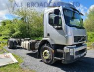 2007 Volvo FE270  18tonner chassis cab (11m), manual, Euro 5