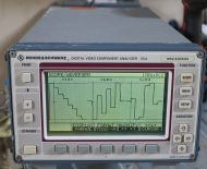 Rhode Schwarz Digital video  analyzer vca