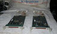 2x Telex RTS Adam Bus Expansion intercom talkback cards