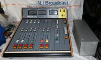 Alice on air 2000 radio / small edit suit sound mixer with power supply